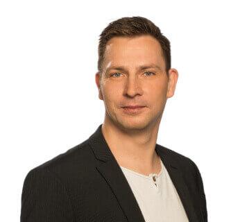 Steve Stockmeier von der Agentur onFire digital in Dresden