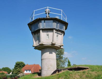 Wachturm aus der ehemaligen DDR