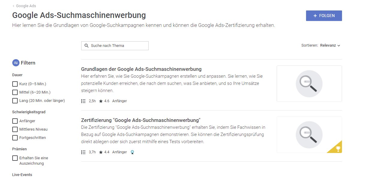 Google-Ads-Suchmaschinenwerbung-Google